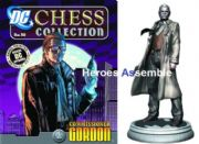 DC Chess Figurine Collection #10 Commissioner Jim Gordon White Pawn Eaglemoss